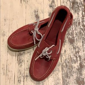 Men's sperry boat shoes like new